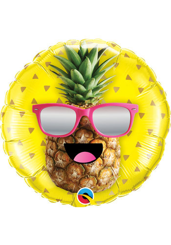 Folieballon Mr. Cool Pineapple - 45cm