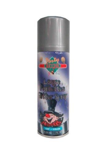 Haarspray - Glitter Zilver