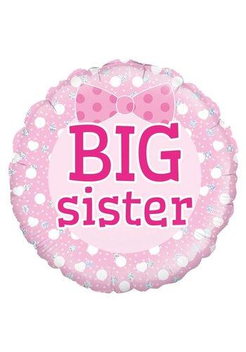 Folieballon Big Sister - 45cm