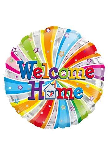 Folieballon - Welcome Home - 45cm