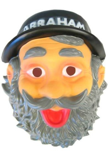 Masker Abraham met hoedje