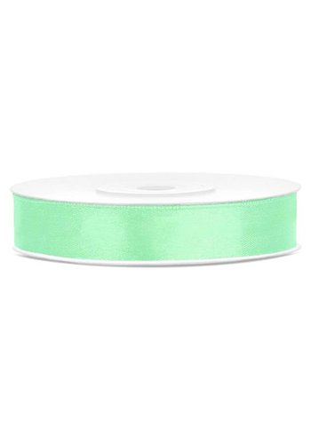 Satijn Lint - Mint - 12mm x 25mtr