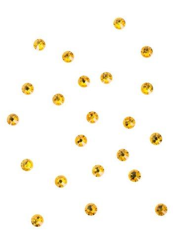 Swarovski steentjes - Goud - 4mm - 24 stuks