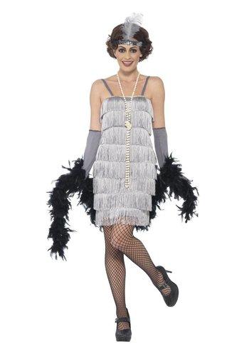 Flapper Dress Zilver