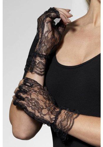 Handschoenen - Lace Zwart