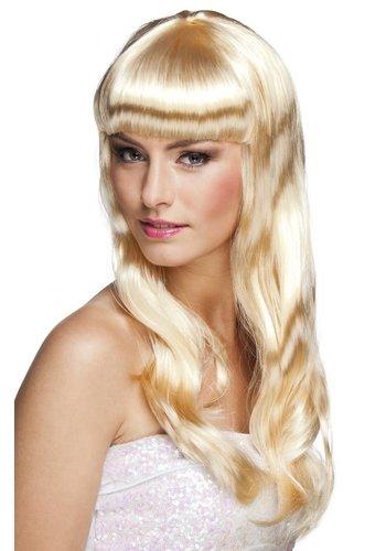 Pruik Chique Blond