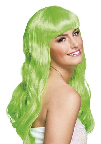 Pruik Chique Groen