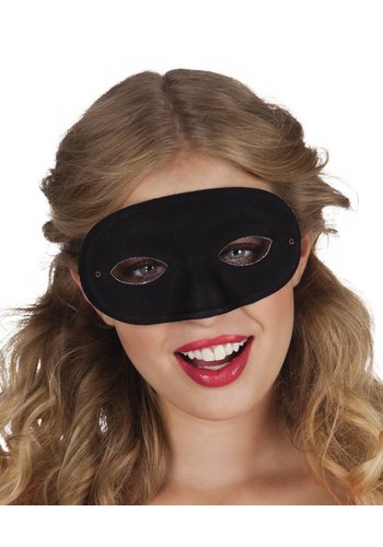 Oogmasker Basis - Zwart
