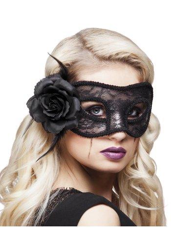 Oogmasker Mystique - Zwart