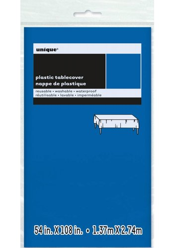 Tafelkleed Donker Blauw 140x274cm