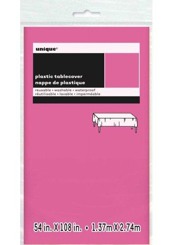 Tafelkleed Hot Pink 140x274cm