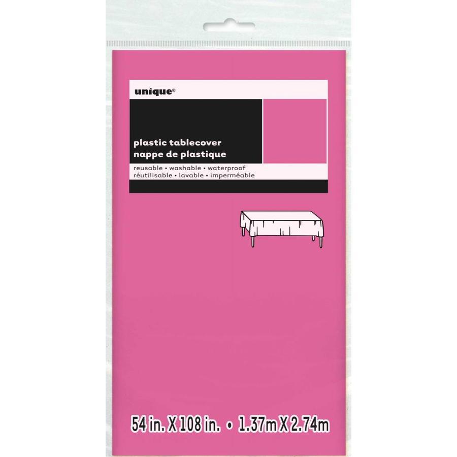 Tafelkleed Hot Pink 137x274cm-1