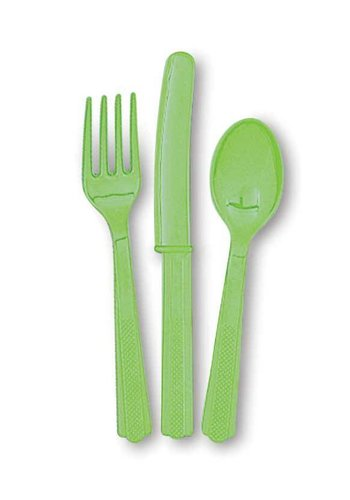 Bestek Lime Groen - 18 stuks