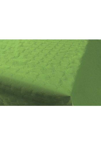 Damast Tafelkleed Lime Groen 8x118cm