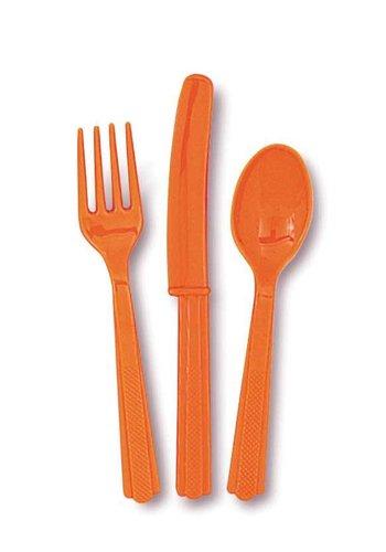 Bestek Oranje - 18 stuks