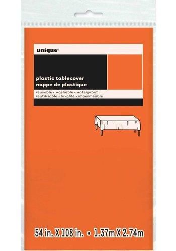 Tafelkleed Oranje 137x274cm