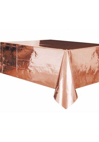 Tafelkleed Rosé Gold 140x274cm