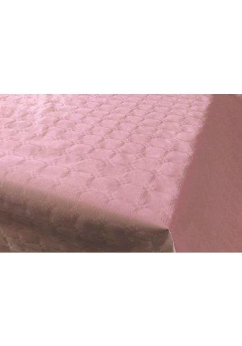 Damast Tafelkleed Roze 8x118cm