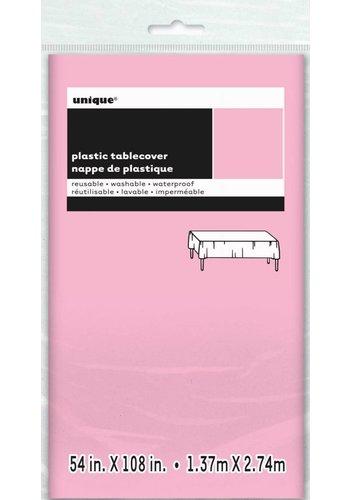 Tafelkleed Roze 140x274cm