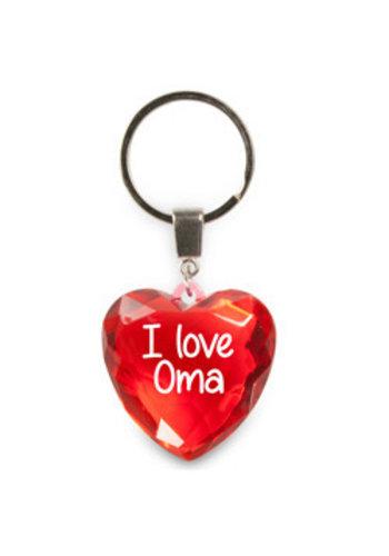 Diamond hart - I Love Oma