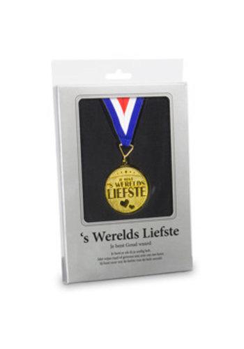 Gouden Medaille - 's Werelds Liefste