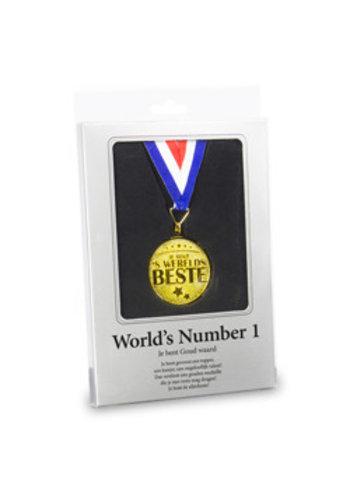 Gouden Medaille - World's number 1