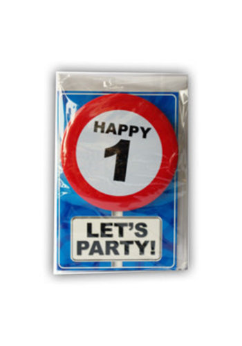 Happy Age Kaart - 1 Jaar