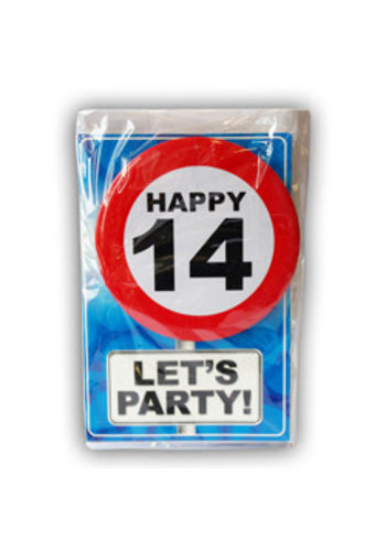 Happy Age Kaart - 14 Jaar