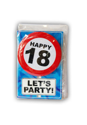 Happy Age Kaart - 18 Jaar