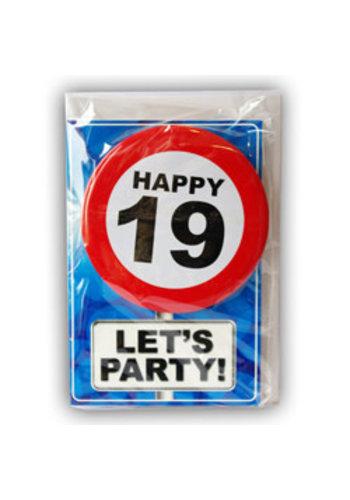 Happy Age Kaart - 19 Jaar