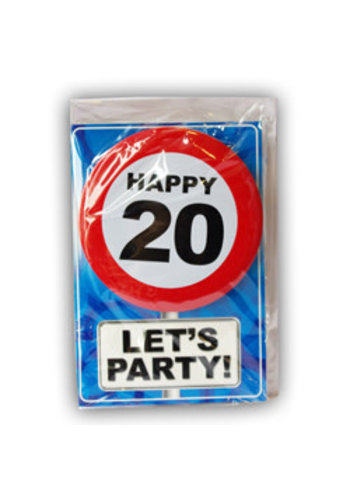 Happy Age Kaart - 20 Jaar