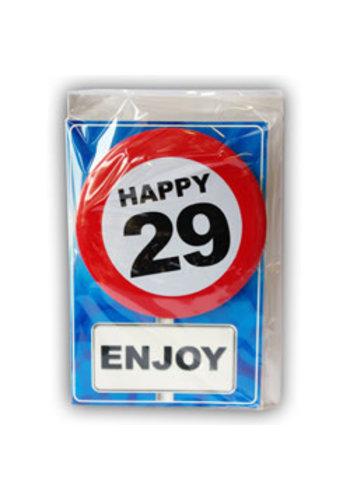 Happy Age Kaart - 29 Jaar
