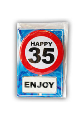 Happy Age Kaart - 35 Jaar