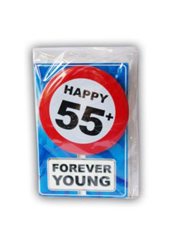 Happy Age Kaart - 55 +