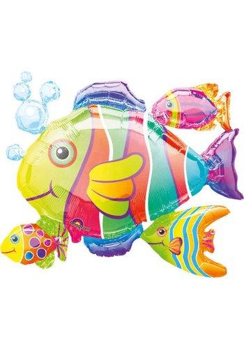 Folieballon Tropical Fish - xcm