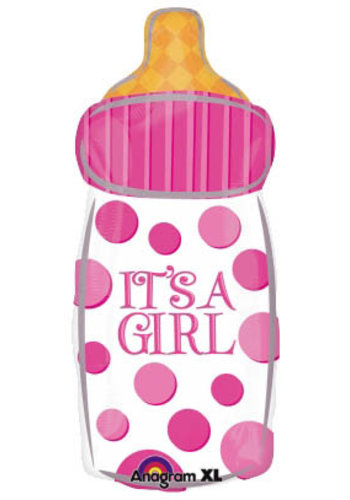 Folieballon - Fles Baby Girl
