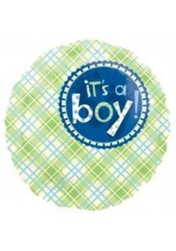 Folieballon - Baby Boy - 45cm