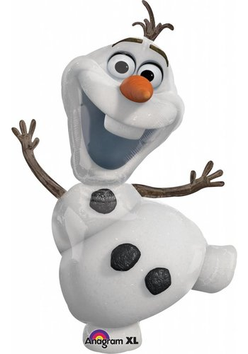 Folieballon Shape Olaf Frozen - 58x104cm