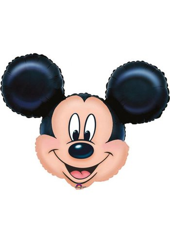 Folieballon Mickey Mouse Hoofd - 53x53cm