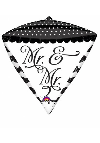 Diamondz Mr & Mr - 38x43cm