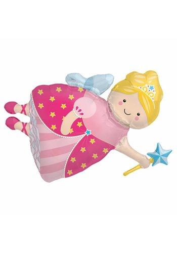 Folieballon Princess Fee - 91cm