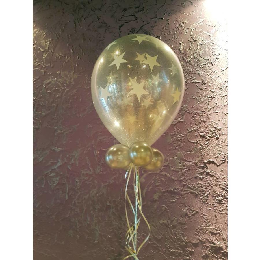Cadeau Ballon met Glitter-6