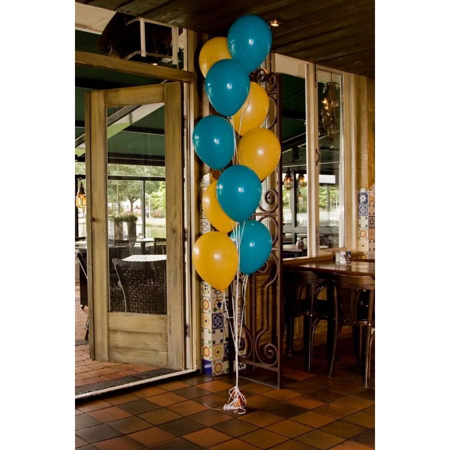 Staander van 10 heliumballonnen-8