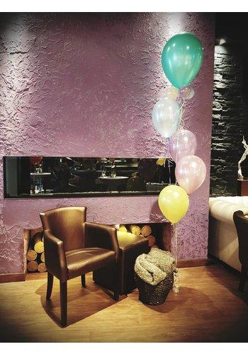 Staander met grote topballon