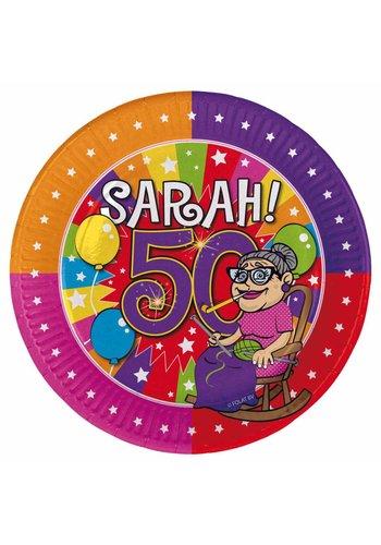 Sarah bordjes - 8 stuks - 18cm