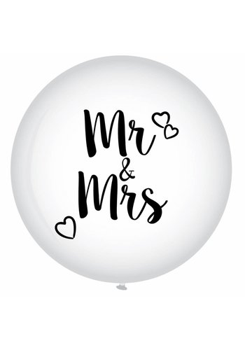 Mega Ballon - Mr & Mrs - 90cm