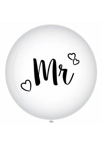 Mega Ballon - Mr - 90cm