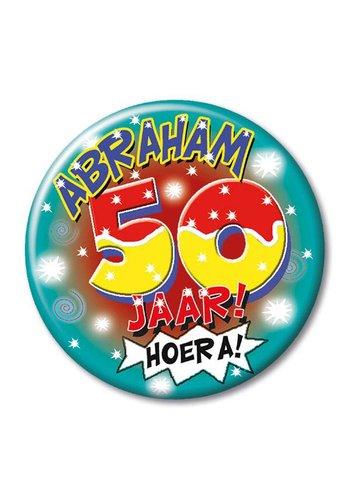 Button - Abraham 50 jaar
