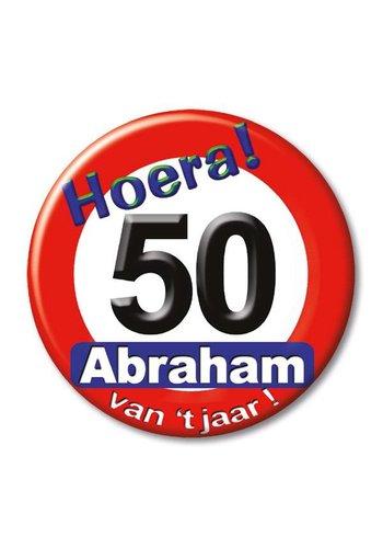 Button - Hoera Abraham