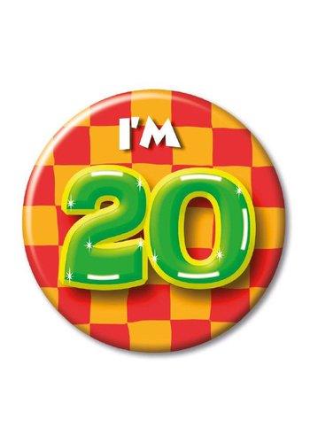 Button - I'm 20